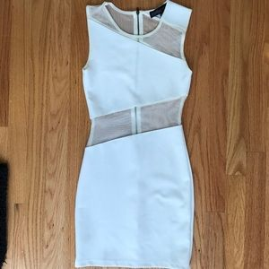 NEVER WORN BEFORE CUT OUT White party/ club dress